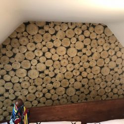 Feature wallpaper in Lincolnshire