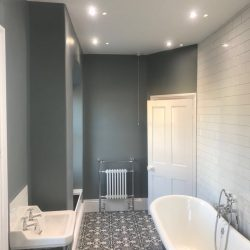 Bathroom in a home in Stamford,