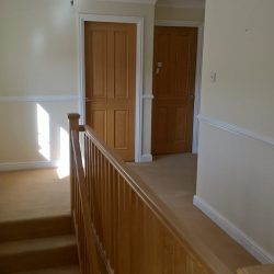 Staircase in a home, Ketton,